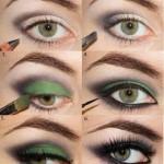 Ami il Verde…allora puoi provare questo Trucco Occhi…che ne pensi?!?!