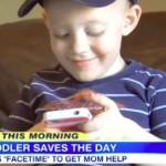 La storia di Bentley: il piccolo eroe che ha salvato sua mamma grazie a Facetime