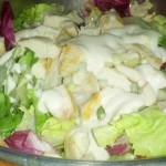 Insalata di pollo allo yogurt